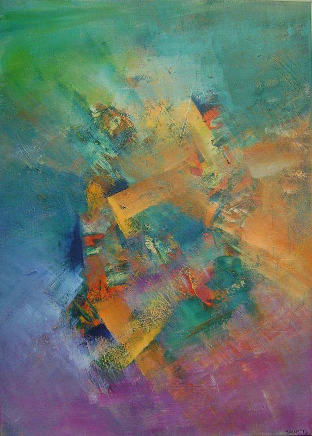 Paola Gianetto - La creación - 50 x 70 - agosto 2013